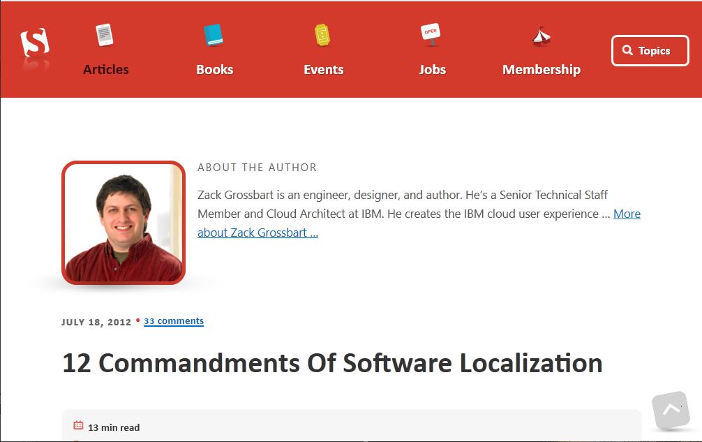 12 przykazań lokalizacji oprogramowania